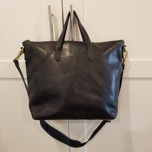 Madewell Zip top Transport Carryall Crossbody Bag